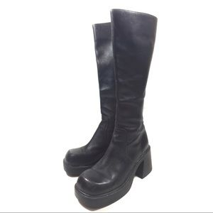 Steve Madden Vintage Chunky Boots